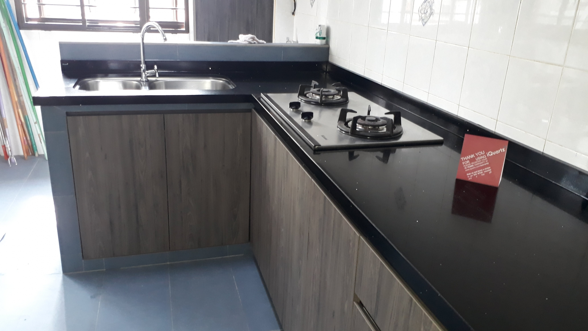 Singapore blk 196 rivervale drive 2nd august 2018 113310 am samantha said the kitchen table top was installed on 28 july 2018 nicely done
